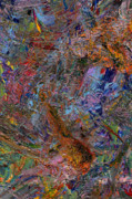 Abstract Expressionism Paintings - Paint Number 26 by James W Johnson