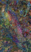 Abstract Field Metal Prints - Paint number 27 Metal Print by James W Johnson