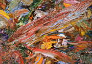 Abstract Expressionism Paintings - Paint number 41 by James W Johnson