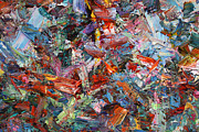 Abstract Expressionism Prints - Paint number 42-a Print by James W Johnson