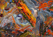 Expressionist Paintings - Paint Number 44 by James W Johnson