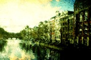 Amsterdam Digital Art - Painted Amsterdam by Andrea Barbieri