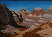 Lester Glass - Painted Desert Arizona
