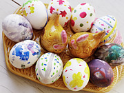 Banquet Photos - Painted Eggs, Sweden by Johner Images