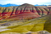 Oregon State Art - Painted Hills I by Dorota Nowak