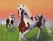 Suzanne  Marie Leclair - Painted Horses