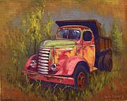 Old Trucks Paintings - Painted Lady by Cody DeLong