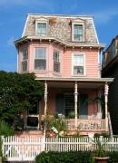 Old Homes Photos - Painted Lady No. 37 by Colleen Kammerer