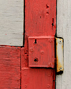 Hardware Photos - Painted Lock by Perry Webster