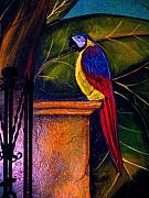 Mural Photos - Painted Parrot by Darian Day by Olden Mexico