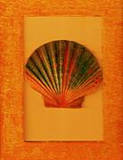 Painted Shell II Print by Anne-Elizabeth Whiteway