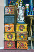 Hand Made Art - Painted Souvenir Boxes by Rob Tilley