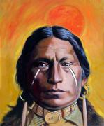 Warrior Originals - Painted Tears by John Lautermilch