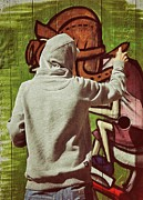 Hoodie Art - Painter by Odd Jeppesen