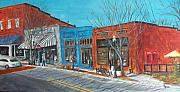 Pete Maier Metal Prints - Paintin The Town Metal Print by Pete Maier