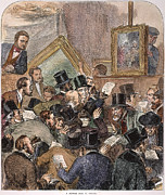 Auction Posters - Painting Auction, 1882 Poster by Granger