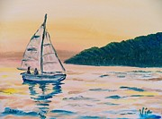 Judy Via-Wolff - Painting  Morning Sail
