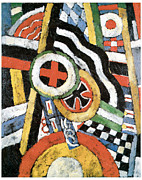 Fine American Art Posters - Painting Number 5 Poster by Marsden Hartley