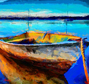 Vincent DiNovici - Painting with a boat TNM