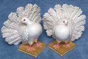 B  Sculptures - Pair of Doves  by Nymphenburg