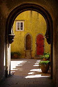 Doorway Posters - Palace arch Poster by Carlos Caetano