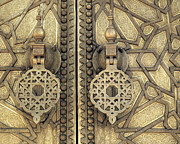 Handcrafted Art - Palace Door by Jim  Wallace