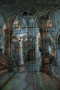 Palace Hall Print by Angel Jesus De la Fuente