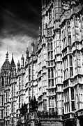 Westminster Palace Photos - Palace Lines by John Rizzuto
