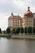 Moated Castle Prints - Palace Moritzburg - Germany Print by Christiane Schulze