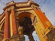 Palace Of Fine Arts Prints - Palace of Fine Arts one Print by Elizabeth Hoskinson