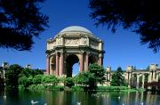 Neo-classical Framed Prints - Palace Of Fine Arts Framed Print by Ron Watts