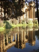 Palace Of Fine Arts Prints - Palace of Fine Arts- San Francisco Print by Carol Sweetwood
