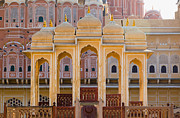 Hindi Prints - Palace of the Winds Print by Inti St. Clair