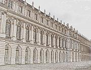 Royalty Digital Art Posters - Palace of Versailles Poster by Amanda Barcon