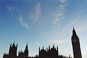 Clock Tower Photos - Palace Of Westminster by Joseph Clark