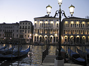 Canal Grande Prints - Palace. Venice Print by Bernard Jaubert