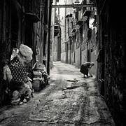 Sicily Photos - Palermo Street by Philip Sweeck