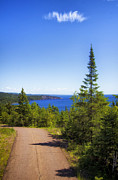 North Shore Prints - Palisade Head - Tettegouche State Park Print by Bill Tiepelman