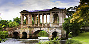 Wendy White Acrylic Prints - Palladian Bridge Acrylic Print by Wendy White