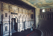 1579 Framed Prints - Palladio: Teatro Olimpico Framed Print by Granger