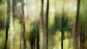 Abstract Palm Trees Prints - Palm-Bamboo Abstract Print by Ryan Hartson-Weddle