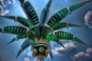 Magic Kingdom Photos - Palm Of Tommorrow by Joetta West