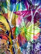 Rainbow Mixed Media - Palm Prisma by Mindy Newman