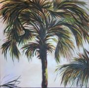 Palm Silhouette Print by Michele Hollister - for Nancy Asbell
