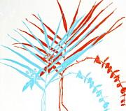 Palm Sprigs Print by Beth Saffer