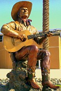 Musicals Prints - Palm Springs Gene Autry 2 Print by Randall Weidner