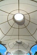 Airport Architecture Prints - Palm Springs International Airport Sonny Bono Concourse Print by Randall Weidner
