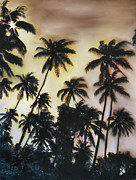 Sillouette Originals - Palm Tree Sky by Michelle Iglesias