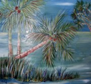 Oils Originals - Palm Trees 0 by Sharon Wood