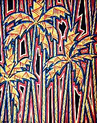 Sharon Ebert Art - Palm Trees by Sharon Ebert